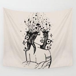 Queen of Spores Wall Tapestry