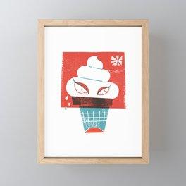 Hot and Cold Framed Mini Art Print