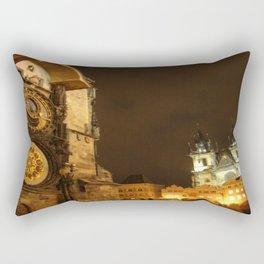 Prague at Night Rectangular Pillow