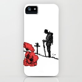 Lest We Forget - Poppy Day iPhone Case