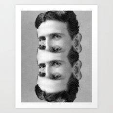 Teslation Art Print