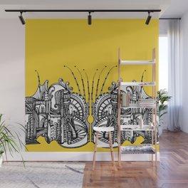 Enchanted City (Genova, Italy) - Duvet Cover - Gold Wall Mural