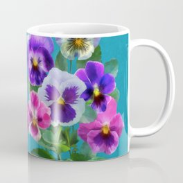 Bouquet of violets I Coffee Mug