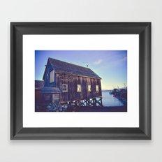 Canadian Coastal Landscape Framed Art Print