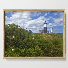 Montauk Point Lighthouse Serving Tray