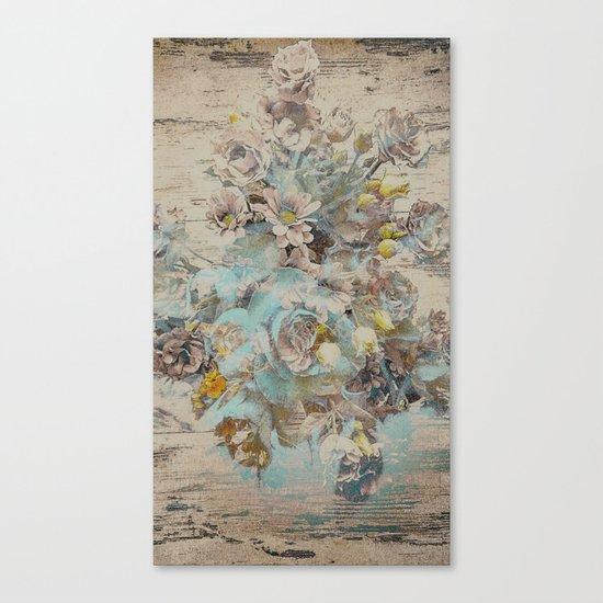 Moonflowers Canvas Print
