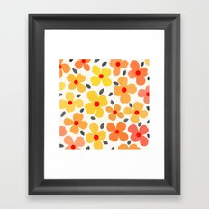 dogwood 6 Framed Art Print