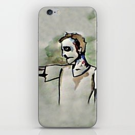 Ginger Zombie iPhone Skin