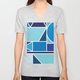 Kaku Blue Unisex V-Neck