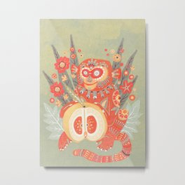 Year of the Monkey Metal Print