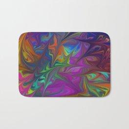 Colors Abstract Fantasy Bath Mat