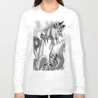 digimon Long Sleeve T-shirts featuring + Digimon - Dorumon + by Xyeziaeos