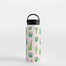 Cacti Pattern Water Bottle