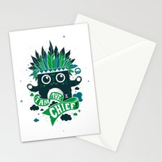 I am the chief! Stationery Cards