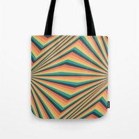 michael myers Tote Bags featuring Myers by Takeshi