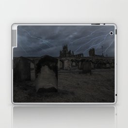 Whitby Abbey darkness Laptop & iPad Skin