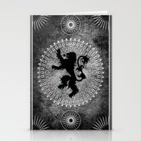 lannister Stationery Cards featuring House Lannister by Micheal Calcara