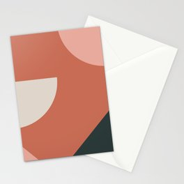 Orbit 03 Modern Geometric Stationery Cards