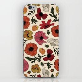 California Poppy iPhone Skin
