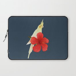 Lutino Cockatiel Laptop Sleeve