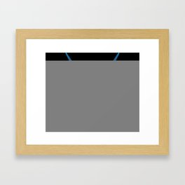 hot rod tee Framed Art Print