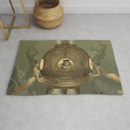 """""""The Bathysphere"""" by David Delamare Rug"""