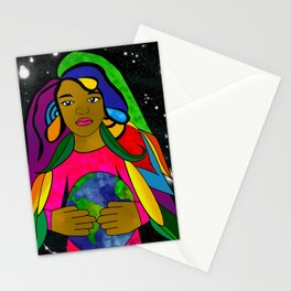 Pachamama, Keeper of the Earth Stationery Cards