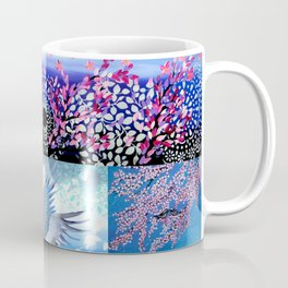 Cherry Blossom Collage Coffee Mug