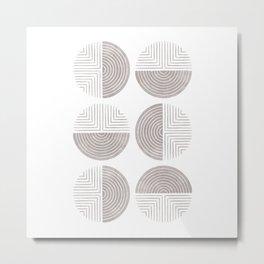 Labyrinth - Ash Metal Print