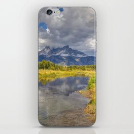 The Grand Tetons Panorama iPhone Skin