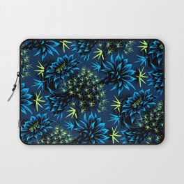 Cactus Floral - Blue/Black/Green Laptop Sleeve