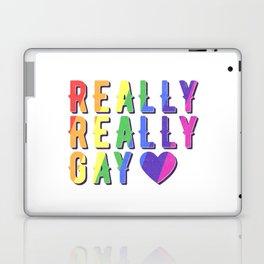 Really Really Gay Laptop & iPad Skin