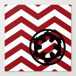 Star Wars Galactic Empire Chevrons Canvas Print
