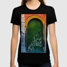 Magic Green Door in Sicily  T-shirt