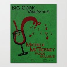 Big Cork Music Poster Canvas Print