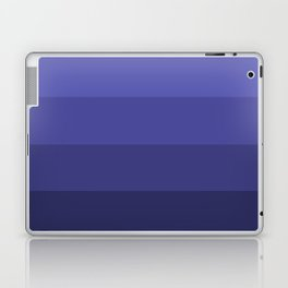 Dark Winter Blue Hues - Color Therapy Laptop & iPad Skin