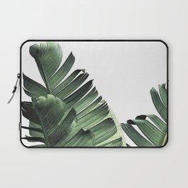 Green Banana Leaves Laptop Sleeve