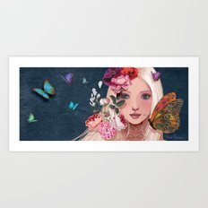 while i was dreaming.... Art Print