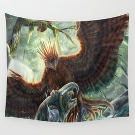 Scorpion Tailed Hawk Wall Tapestry