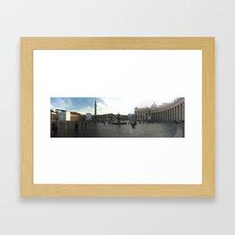 Vatican City Framed Art Print