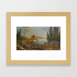 Hookie Framed Art Print