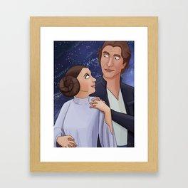 """I know."" Framed Art Print"