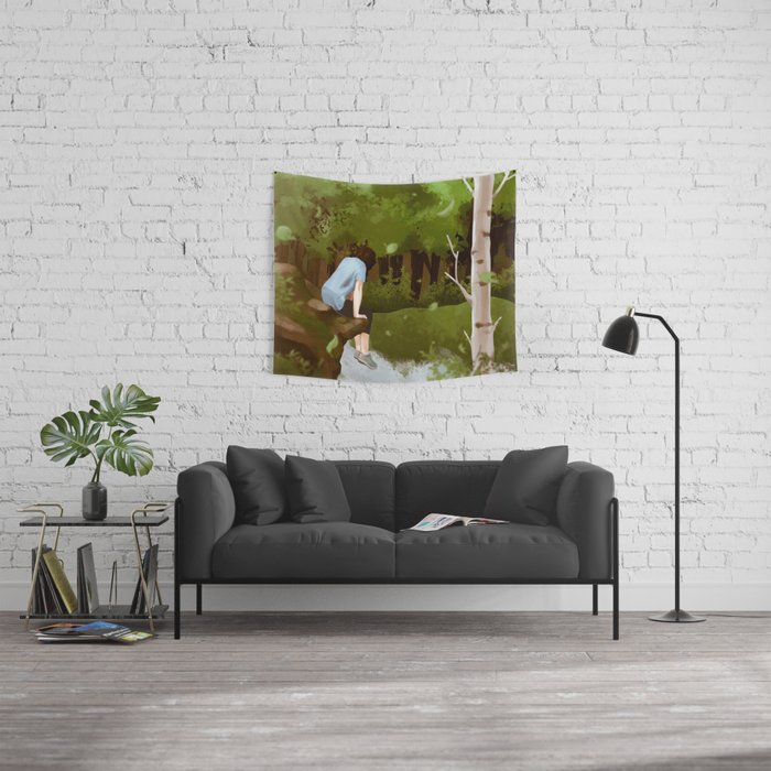 Motion Wall Tapestry