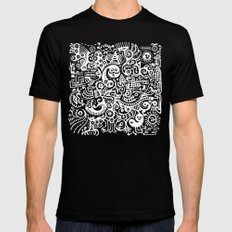 Earthly Creatures #1 Black MEDIUM Mens Fitted Tee