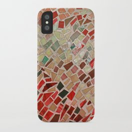 Razzle Red Mosaic iPhone Case