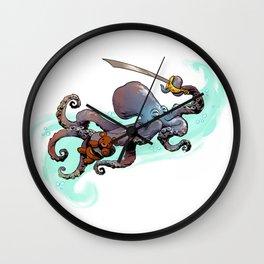 otto's big adventure Wall Clock