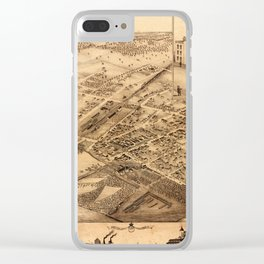 Map Of Collingwood 1875 Clear iPhone Case