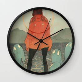 Spirits of the Lake Wall Clock