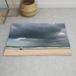 A Peaceful Day At The Seaside Rug