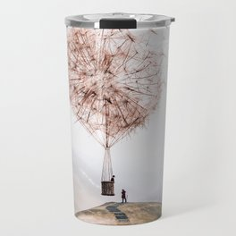 Flying Dandelion Travel Mug